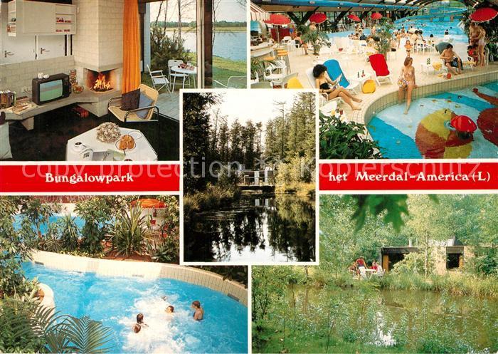 AK / Ansichtskarte America_Niederlande Bungalowpark het Meerdal Sporthuis Centrum America_Niederlande
