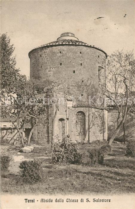 AK / Ansichtskarte Terni Abside della Chiesa di San Salvatore Terni