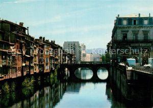 AK / Ansichtskarte Castres_Tarn Vieilles Maisons au bord de l Agout Castres_Tarn