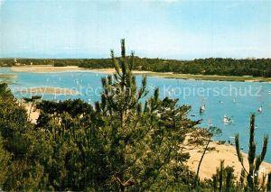 AK / Ansichtskarte Hossegor_Soorts_Landes Cote Landaise Le Lac Hossegor_Soorts_Landes