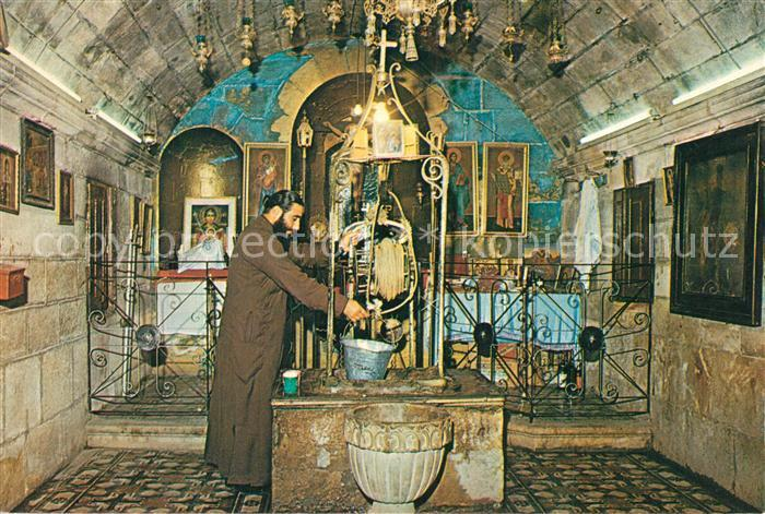 AK / Ansichtskarte Nablus Jakobs Well Nablus