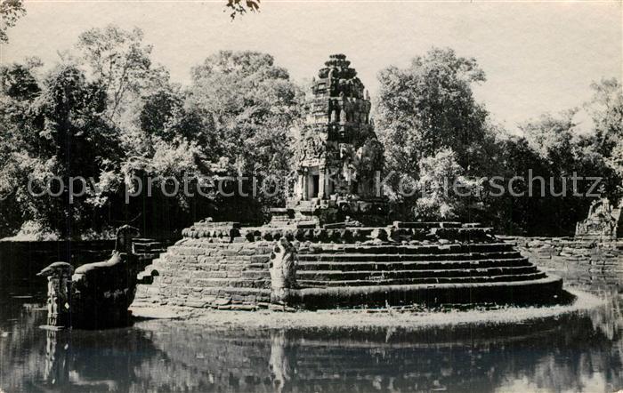 AK / Ansichtskarte Angkor_Kambodscha Tempel