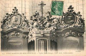 AK / Ansichtskarte Saint Martin de Boscherville Eglise Saint Georges  Saint Martin de Boscherville