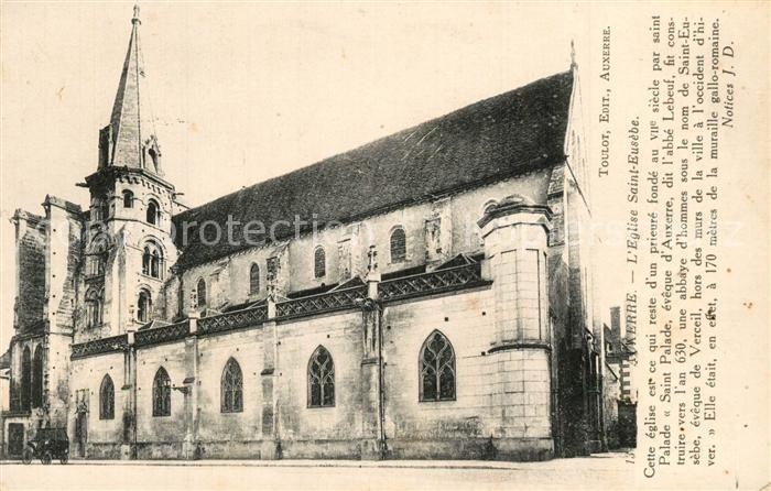 AK / Ansichtskarte Auxerre Eglise Auxerre