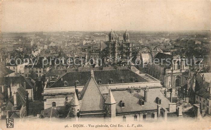 AK / Ansichtskarte Dijon_Cote_d_Or Vue generale Cote Est Dijon_Cote_d_Or