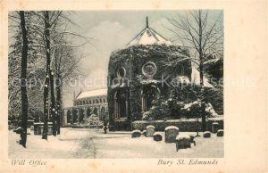 AK / Ansichtskarte Bury_St_Edmunds Will Office