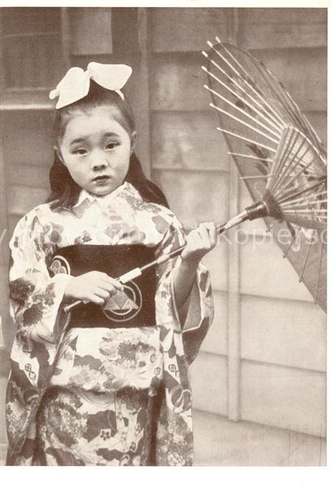 AK / Ansichtskarte Japan Japanisches Maedchen im Kimono Japan
