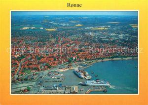 AK / Ansichtskarte Ronne Fliegeraufnahme Ronne