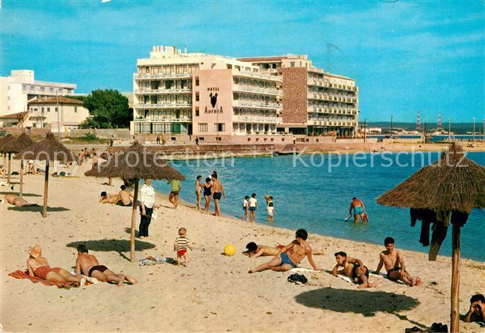 AK / Ansichtskarte Can_Pastilla_Palma_de_Mallorca Playa de Cala Estancia Can_Pastilla