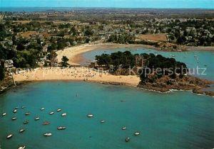 AK / Ansichtskarte Saint Briac sur Mer Vue aerienne sur les plages de la Grande Salinette et du Bechet Saint Briac sur Mer