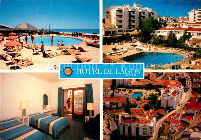 AK / Ansichtskarte Lagos_Algarve_Portugal Hotel de Lagos Pool Zimmer