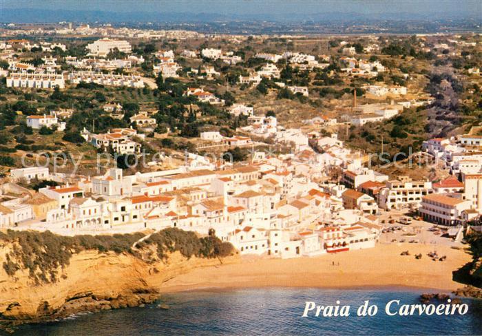 AK / Ansichtskarte Praia_do_Carvoeiro Fliegeraufnahme Praia_do_Carvoeiro