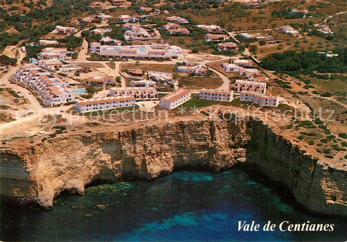 AK / Ansichtskarte Praia_do_Carvoeiro Vale de Centianes Fliegeraufnahme Praia_do_Carvoeiro