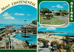 AK / Ansichtskarte Oeiras Motel Continental Details Oeiras