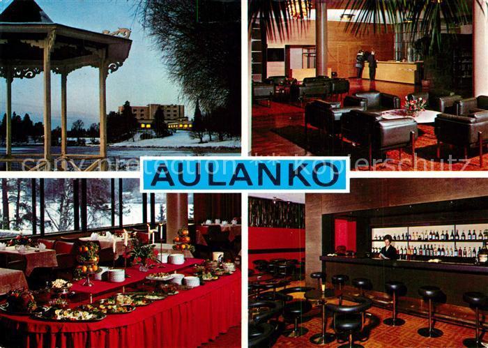AK / Ansichtskarte Aulanko Haemeenlinna Restaurant Bar Aulanko