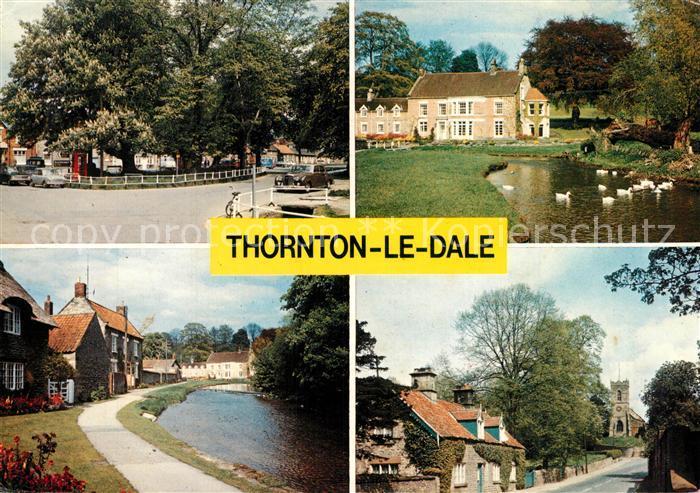 AK / Ansichtskarte Thornton_Dale Village Centre Beck Isle Church View
