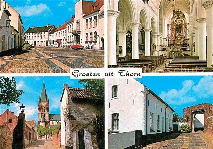 AK / Ansichtskarte Thorn_Limburg Wijngaard Interieur Stiftkerk Kloosterberg Immuniteitspoort Thorn Limburg
