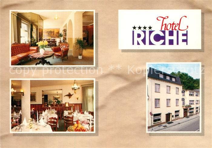 AK / Ansichtskarte Valkenburg_aan_de_Geul Hotel Riche Gastraeume Valkenburg_aan_de_Geul