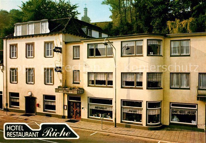 AK / Ansichtskarte Valkenburg_aan_de_Geul Hotel Restaurant Riche Valkenburg_aan_de_Geul
