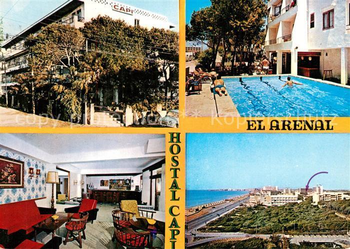 AK / Ansichtskarte El_Arenal_Mallorca Hotel Capi Arenal El_Arenal_Mallorca