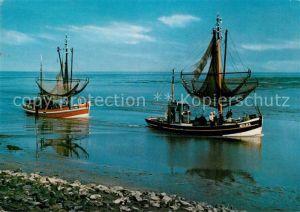 AK / Ansichtskarte Fischerei Fischkutter Nordsee