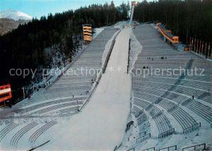 AK / Ansichtskarte Ski Flugschanze Innsbruck Berg Isel Olympia Spezial Sprungschanze