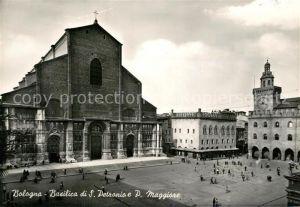 AK / Ansichtskarte Bologna Basilica di San Petronio Piazza Maggiore Bologna