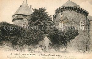 AK / Ansichtskarte Sille le Guillaume Chateau Sille le Guillaume