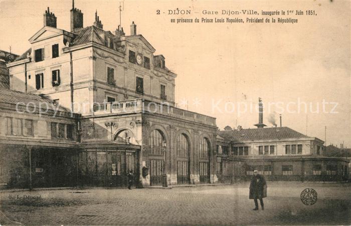 AK / Ansichtskarte Dijon_Cote_d_Or Gare Dijon_Cote_d_Or