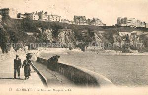 AK / Ansichtskarte Biarritz_Pyrenees_Atlantiques La Cote des Basques Biarritz_Pyrenees