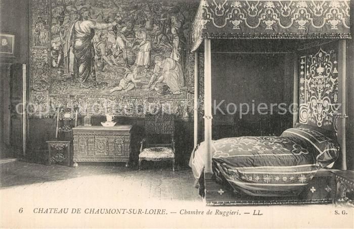 AK / Ansichtskarte Chaumont sur Loire Chambre de Ruggieri Chaumont sur Loire