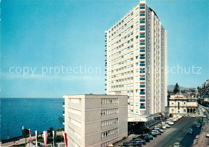 AK / Ansichtskarte Montreux_VD Eurotel Montreux VD