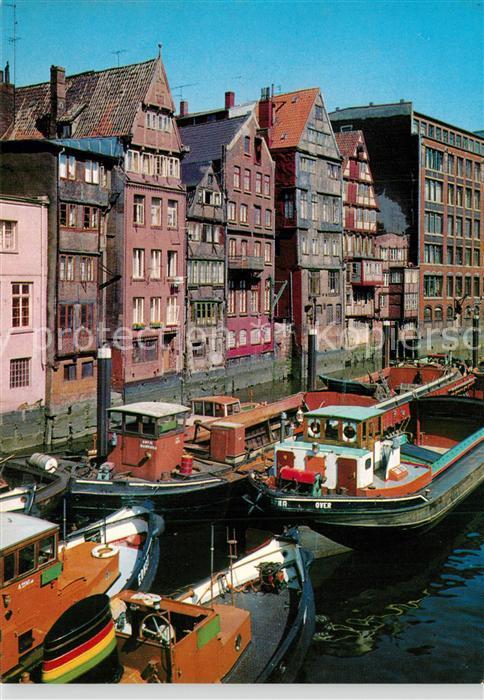 AK / Ansichtskarte Hamburg Alte H?user am Nicolaifleet Hamburg