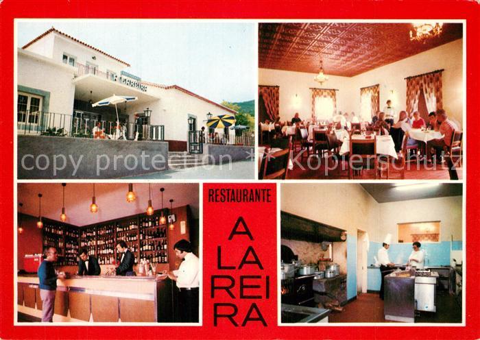AK / Ansichtskarte Canico Interieur du Restaurant A Lareira Canico