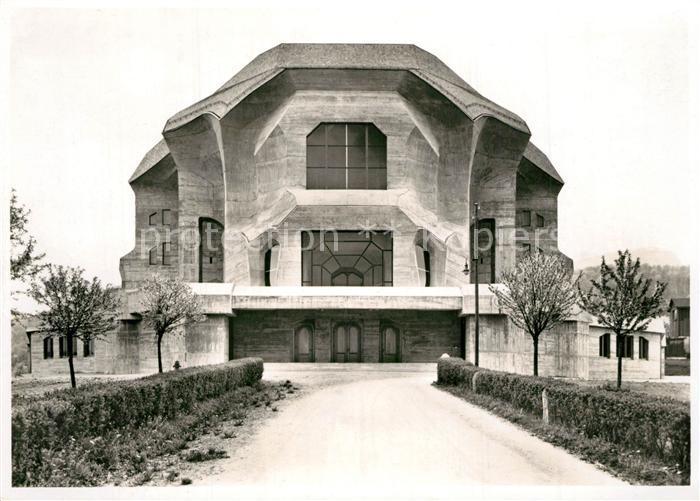 AK / Ansichtskarte Dornach_SO Goetheanum Hochschule fuer Geisteswissenschaften Architektur Dornach_SO