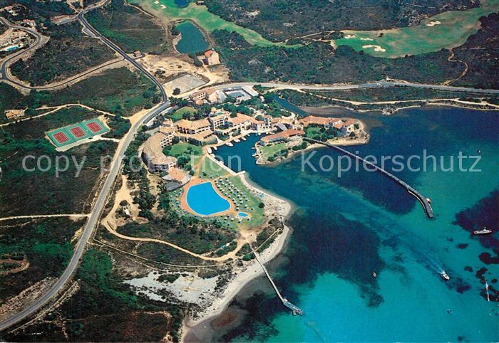 AK / Ansichtskarte Cala_di_Volpe Veduta aerea