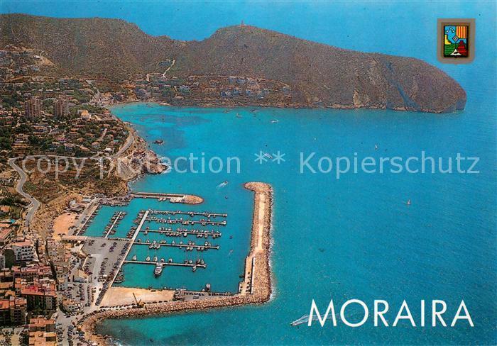 AK / Ansichtskarte Moraira Fliegeraufnahme Moraira