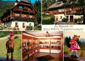 AK / Ansichtskarte Puppen Puppenmuseum Elli Riehl Ein?de Treffen Villach