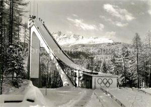 AK / Ansichtskarte Ski Flugschanze Cortina Trampolino Olimpico Italia
