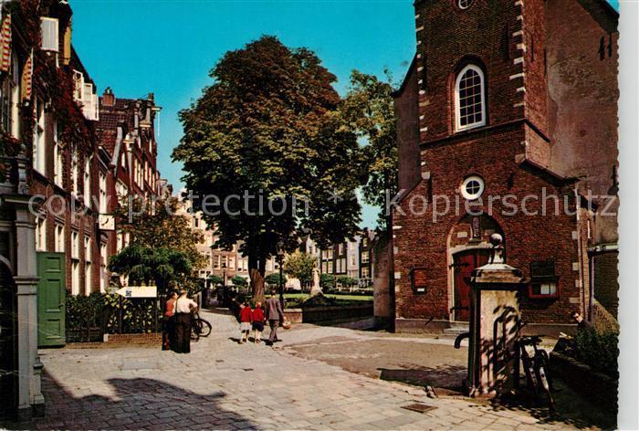 AK / Ansichtskarte Amsterdam_Niederlande Begijnhof Amsterdam_Niederlande