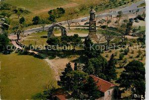 AK / Ansichtskarte Saint Remy de Provence Fliegeraufnahme sur les Antiques Saint Remy de Provence