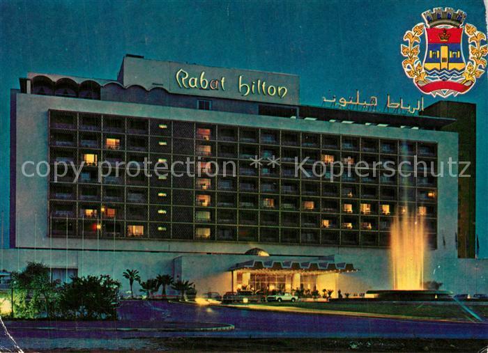 AK / Ansichtskarte Rabat_Marokko Rabat Hilton Hotel Rabat Marokko