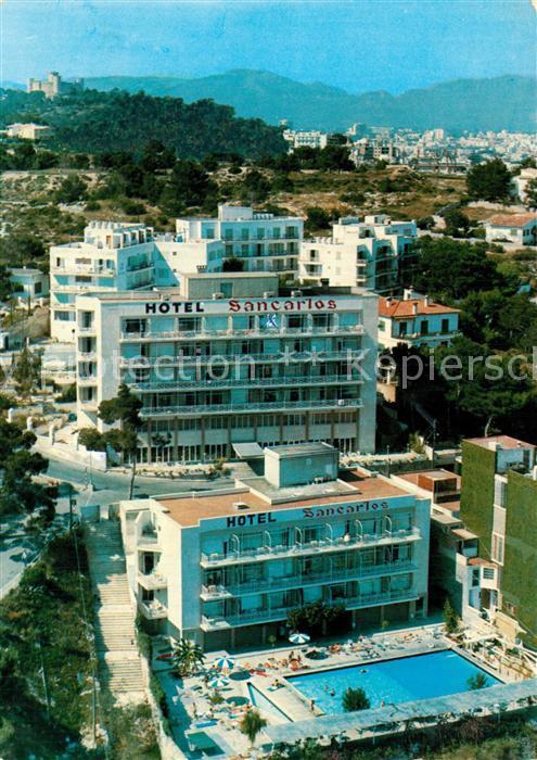 AK / Ansichtskarte Palma_de_Mallorca Hotel San Carlos Porto Pi Palma_de_Mallorca