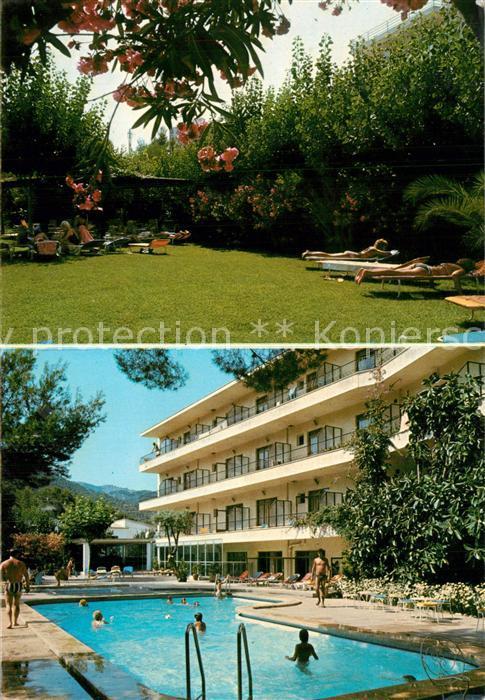 AK / Ansichtskarte Paguera_Mallorca_Islas_Baleares Hotel Nilo Pool Paguera_Mallorca