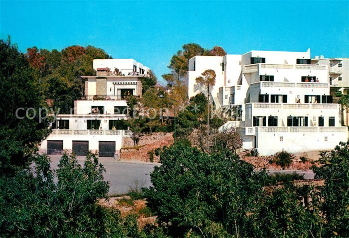 AK / Ansichtskarte Paguera_Mallorca_Islas_Baleares Hotel Villa Columbus Paguera_Mallorca