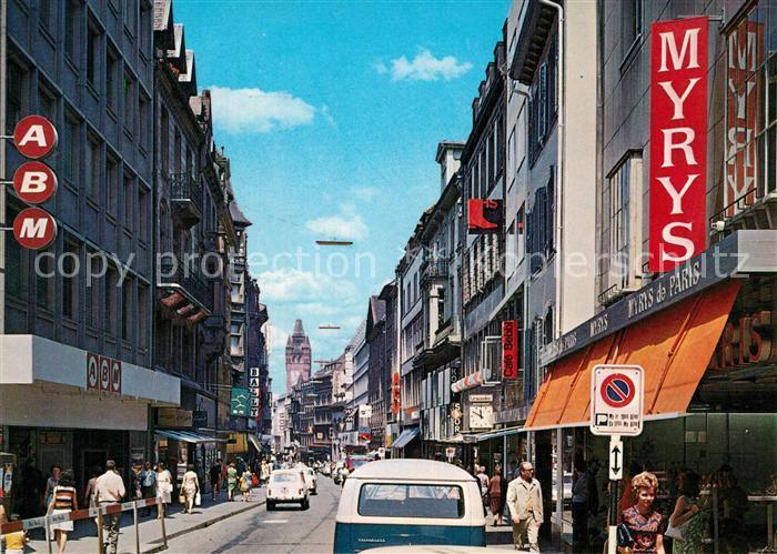 AK / Ansichtskarte Basel_BS Die Freiestrasse Basel_BS
