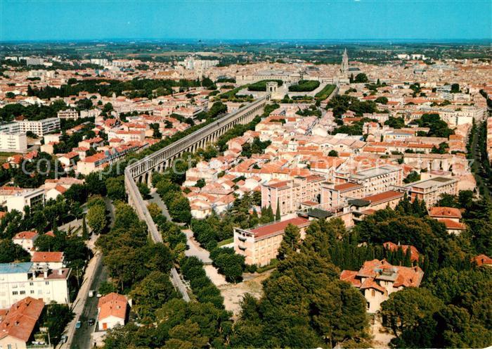 AK / Ansichtskarte Montpellier_Herault Fliegeraufnahme Montpellier Herault