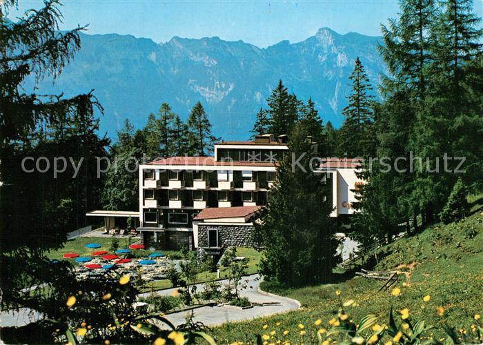AK / Ansichtskarte Triesenberg Alphotel Gaflei Triesenberg