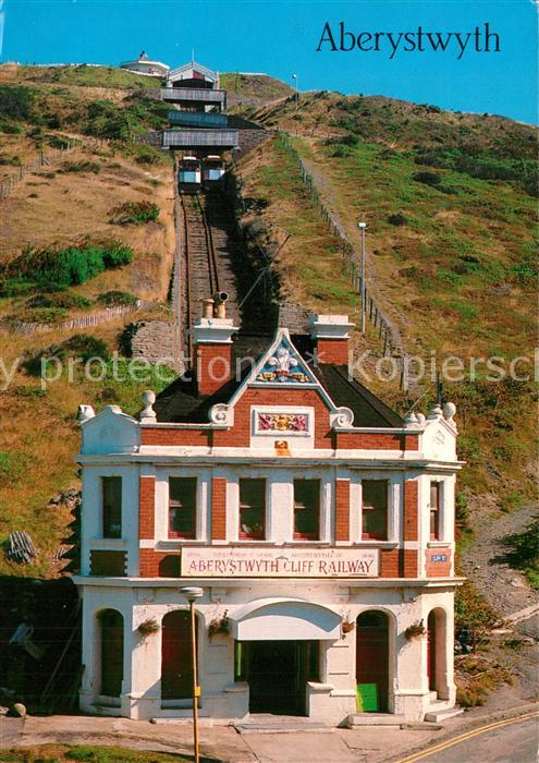 AK / Ansichtskarte Aberystwyth The Cliff Railway