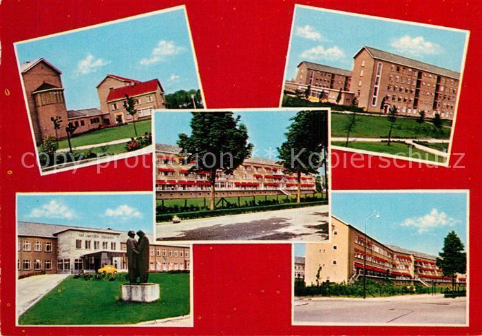 AK / Ansichtskarte Helmond St Lambertus Ziekenhuis Rectoraat Hoofdingang Verpleeggebouw  Helmond